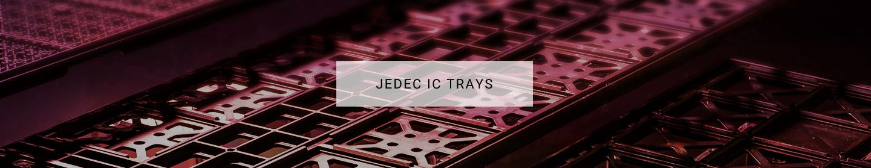JEDEC IC TRAYS