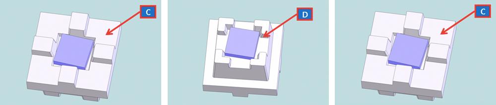 従来のポケット構造(TYPE2)